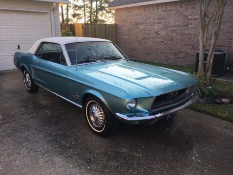 1968 Ford Mustang Original Trim (Blue, White Top) for sale