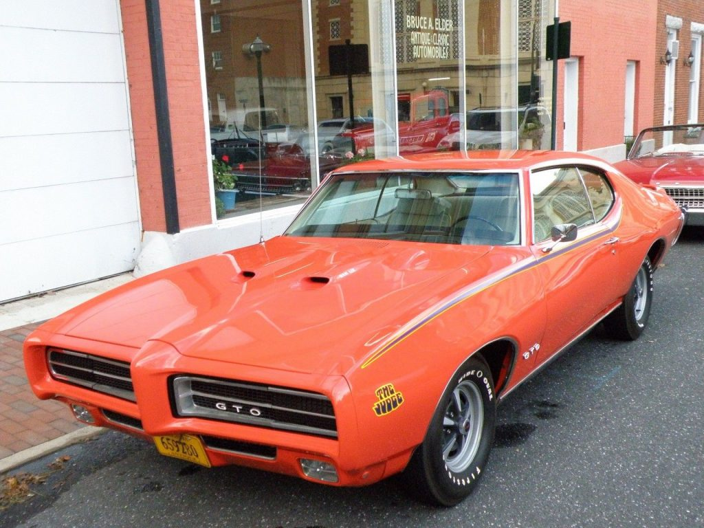 1969 Pontiac GTO Judge Restored Early Production Ram Air III for sale