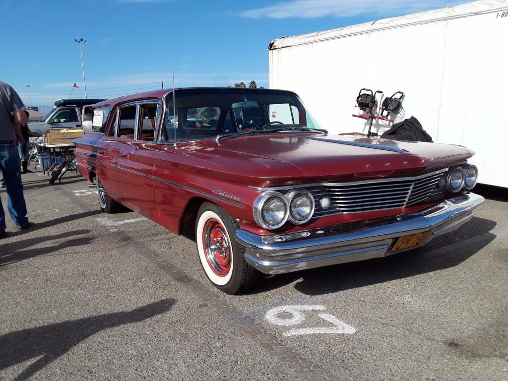 California Patina 1960 Pontiac Catalina Safari Station Wagon For Sale Bonneville