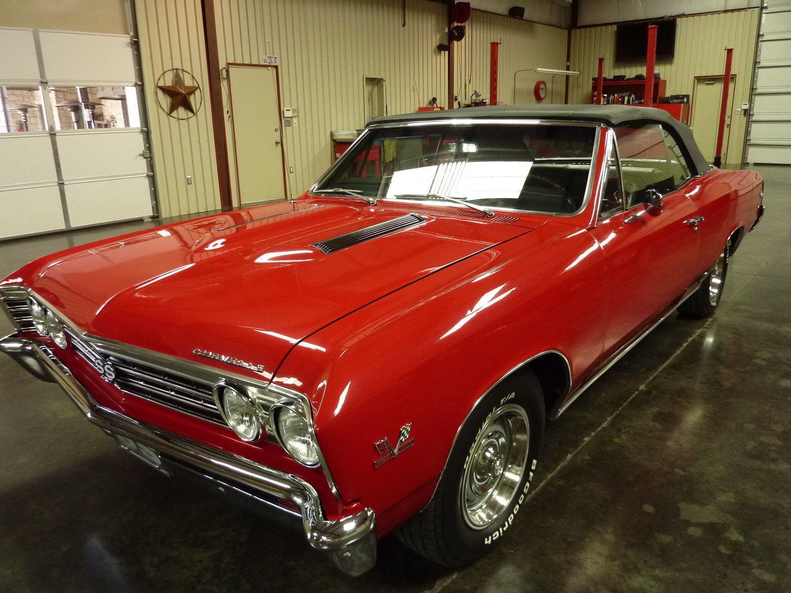 Fully restored 1967 Chevrolet Chevelle SS 396 for sale