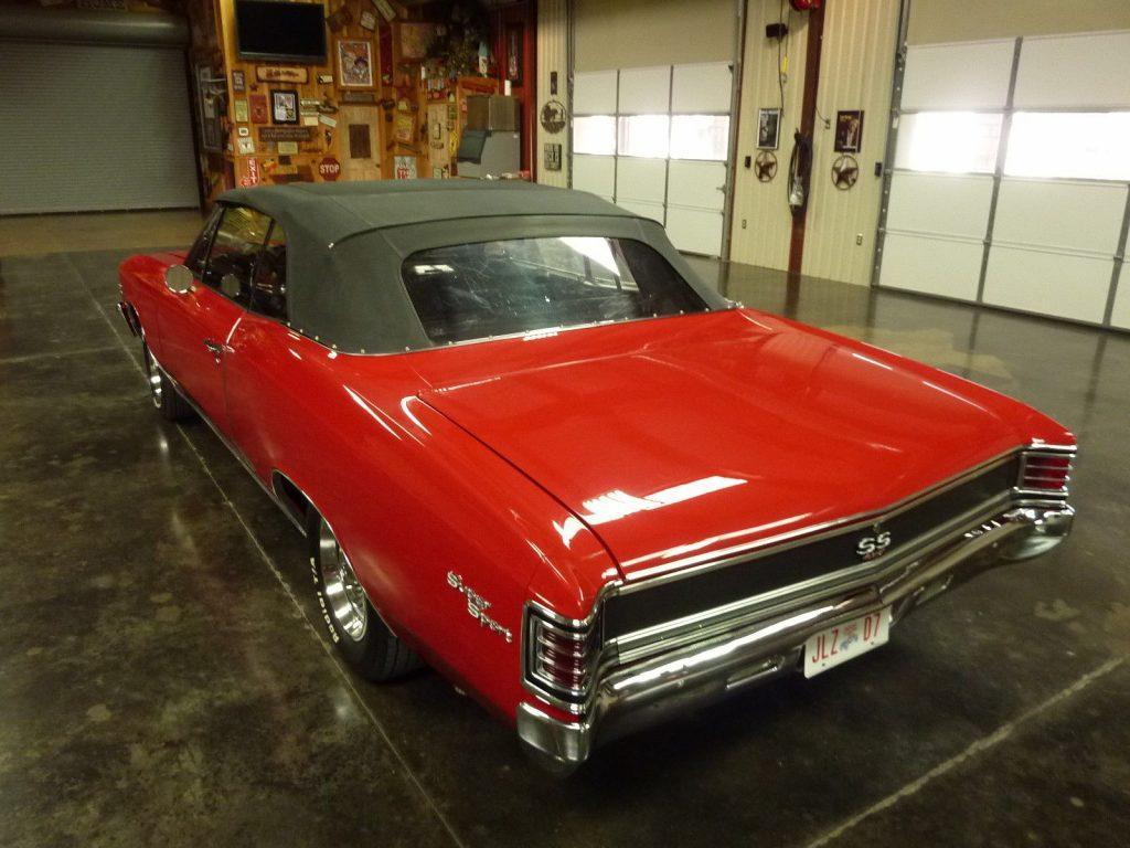 Fully Restored 1967 Chevrolet Chevelle Ss 396 For Sale 1966