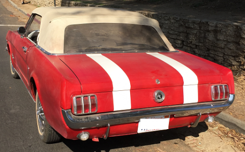Original 1965 Ford Mustang D8 for sale