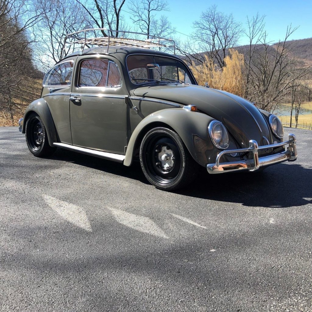 fully restored 1964 volkswagen beetle classic for sale. Black Bedroom Furniture Sets. Home Design Ideas