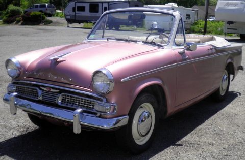 1960 Sunbeam Rapier CONVERTIBLE – Runs & Drives Excellent for sale