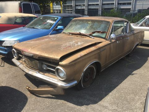 NICE 1965 Plymouth Barracuda for sale