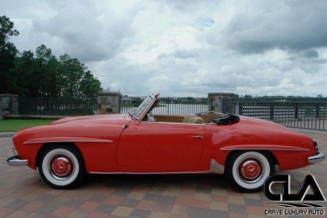 BEAUTIFUL 1962 Mercedes Benz SL Class